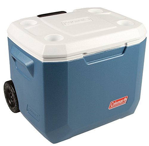Coleman Cool Box Xtreme 47 Litres, Large High Performance Wheeled Cooler Box, Ice box for Drinks, Camping, Picnic, Use with Ice Packs