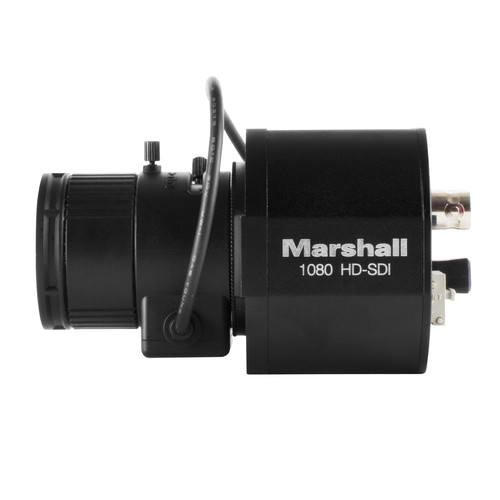 Marshall Electronics CV343-CS 1/3-inch 2.5MP Full HD 3G-SDI/Composite Compact Progressive Camera, 1920x1080, 60fps, CS/C Mount w/Auto Iris, Power Pigtail Cable, NTSC and PAL System, Lens Not Included by Marshall