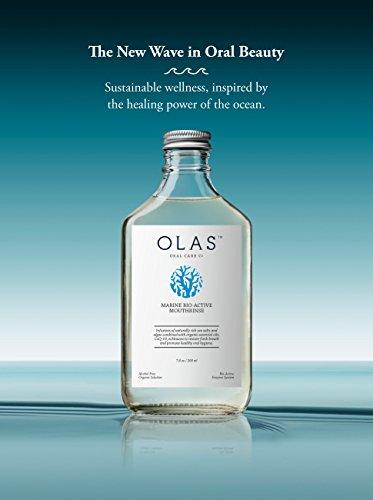 OLAS Alcohol-Free Mouthwash with Marine Bio-Active Complex, Travel Size 3fl.oz by Olas (Image #2)