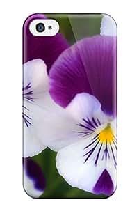 Iphone 4/4s Case Bumper Tpu Skin Cover For Flower Accessories