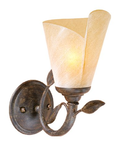 Vhomes Light Capri 1L Vanity Black Walnut