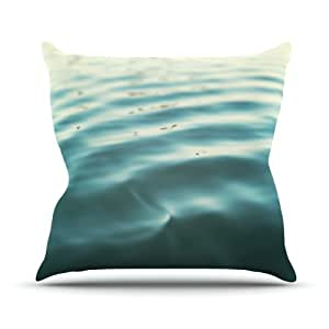 "Kess InHouse Bree Madden ""Seawater"" Outdoor Throw Pillow, 26 by 26-Inch"