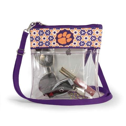 Canyon Outback Clear Crossbody Game Day Bag (Stadium Approved) ... (Clemson)