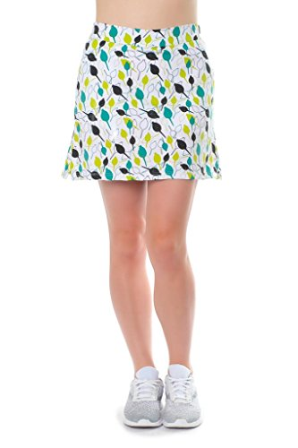 Haute Shot Micro-Poly Skort for Travel, Everyday, Golf, ect, Slimming fit, Breathable Comfort. by Haute Shot Golf