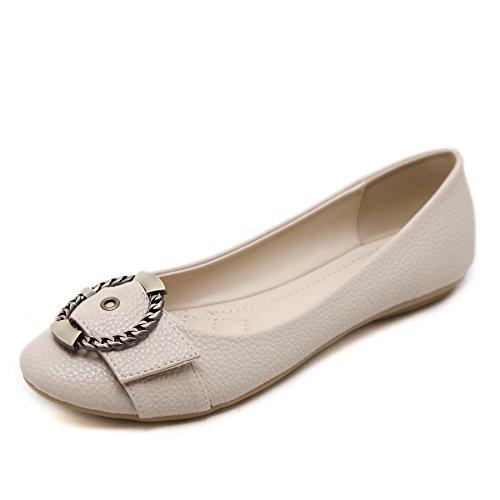 Pictures of Meeshine Women's Ballet Flats Comfort Slip 3