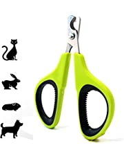Pet Nail Clipper Scissors,Geli Professional Trimming Pet Nail Clippers,Animal Grooming Tools for Cat Puppy Claw