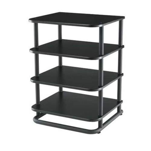 Sanus EFA31-B1 4 Shelf Audio Rack (1 EFAB + 3 EFAS) Black