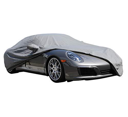 (PROTEKZ Custom Car Cover for Porsche 996 S C4 C4S Turbo 1997 1998 1999 2000 2001 2002 2003 (Breathable Dust Series Gray))
