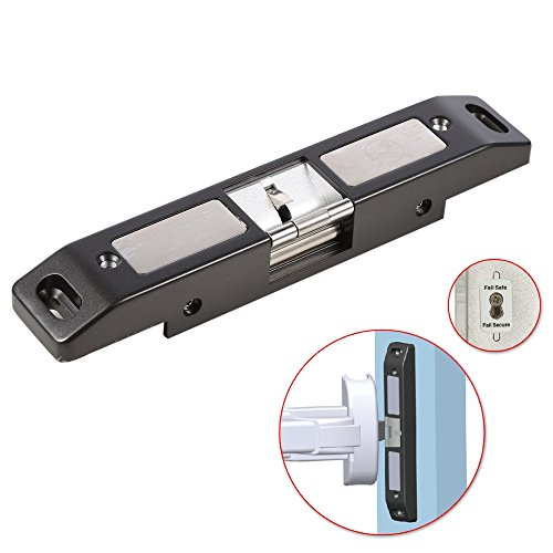 UHPPOTE Electric Strike Lock For Push Panic Bar Exit Device Emergency Door