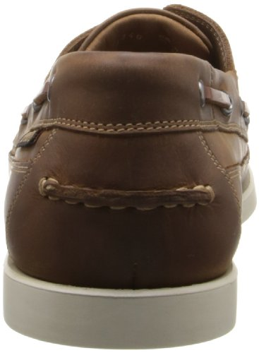 Mephisto Mens Boating Leather Shoes Desert