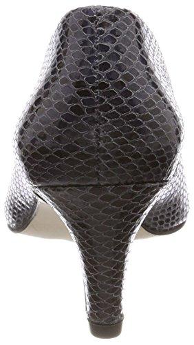 Van Dal Damen Lowe Pumps Grey (Storm Snake Print)