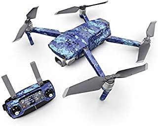product image for Digital Sky Camo Decal Kit for DJI Mavic 2 Drone - Includes 1 x Drone/Battery Skin + Controller Skin