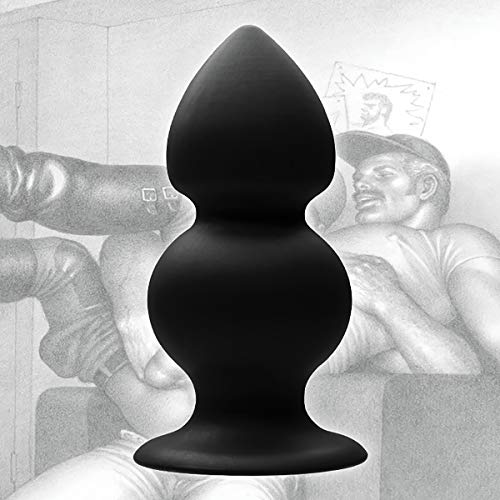 Tom of Finland Weighted Silicone Anal Plug -  XR, LLC, TF1373