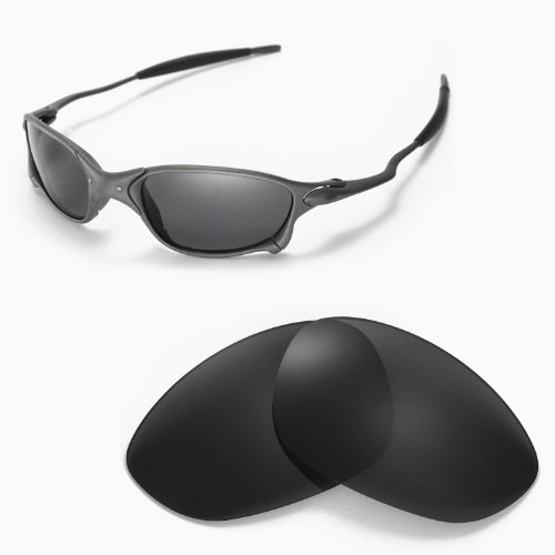 b0f95cf8ba Walleva Replacement Lenses for Oakley X Metal XX Sunglasses - Multiple  Options (Black - Polarized