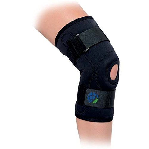 Advanced Orthopaedics Deluxe Hinged Knee Brace - Brace Knee Hinged Deluxe