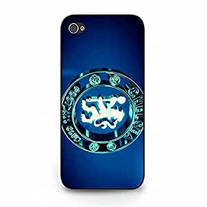 Chelsea FC Stereoscopic Bright Symbol Hard Plastic Shell Case for Iphone 5/5S