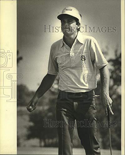 1980 Press Photo Curtis Strange on golf course. - mjt16482 - Historic Images