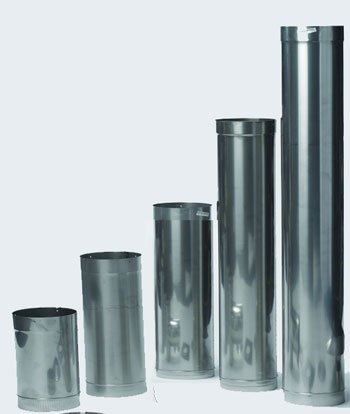 8 inch chimney pipe kit - 3
