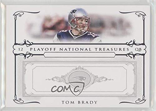 Tom Brady #/100 (Football Card) 2007 Playoff National Treasures - [Base] #1