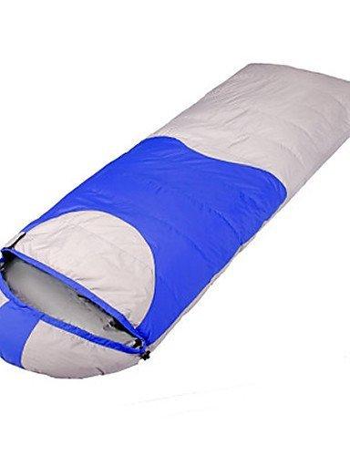 Schlafsack Rechteckiger Schlafsack Einzelbett(150 x 200 cm) -10? Enten Qualitätsdaune 1500g 220X80 Reisen Winddicht / warm haltenPhoenix