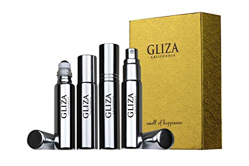 JASMINE BLOOM by Gliza Niche Perfume Oil better than Cologne and EDT Challenge to Tom Ford Velvet Orchid For Women Travel Size (0.3 fl oz) Roll on + Perfume Spray (0.3 fl oz)