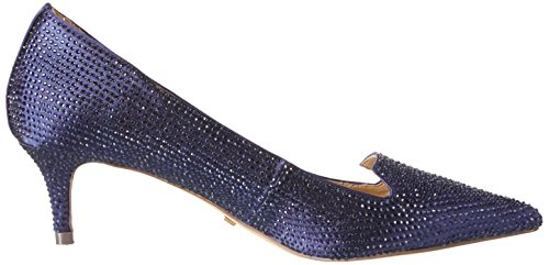 BUFFALO Rk 1602-030-a Satin, Atado Al Tobillo para Mujer Azul (NAVY)