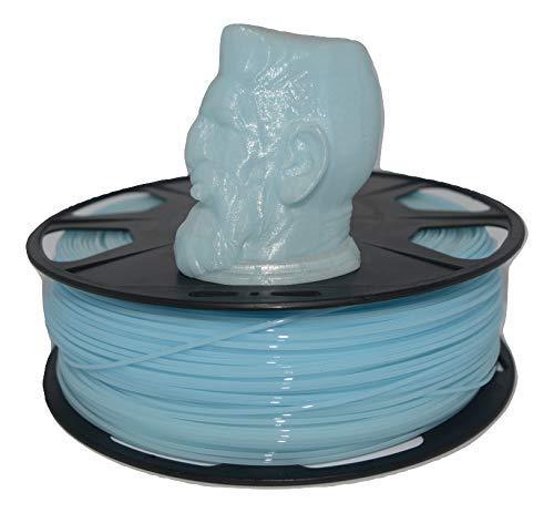 PLA Filament 500 Grams Roll 1.75 MM 3D Printer Roll (Sky Blue)