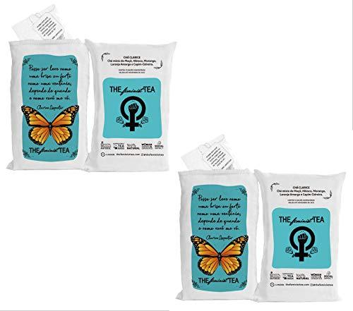 Chá Clarice - Kit com 2 un - The Feminist Tea