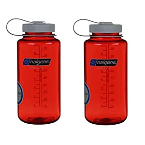 Nalgene 32oz Wide Mouth Everyday Water Bottle 2 Pack
