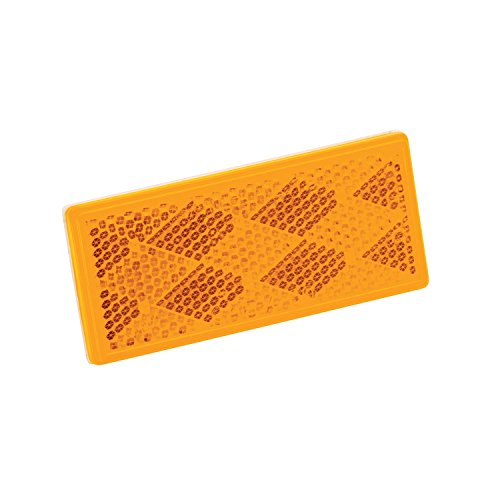 Wesbar 003357 Reflector with Adhesive Back - Amber by Wesbar (Image #1)