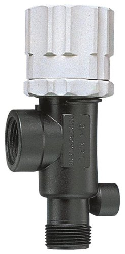 TeeJet 23120-1/2-PP Pressure Relief Valve polypropylene Bypass Relief Valve