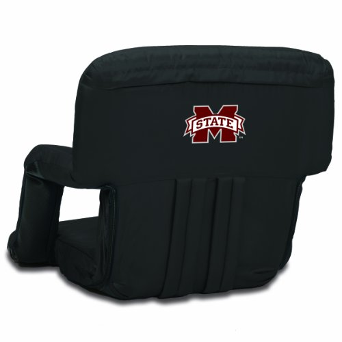 NCAA Mississippi State Bulldogs Ventura Portable Reclining Seat - Mississippi Seat Cushion