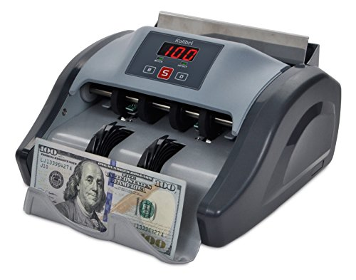 Kolibri Money Counter with UV Detection and 1-year Warranty (Counter Money)