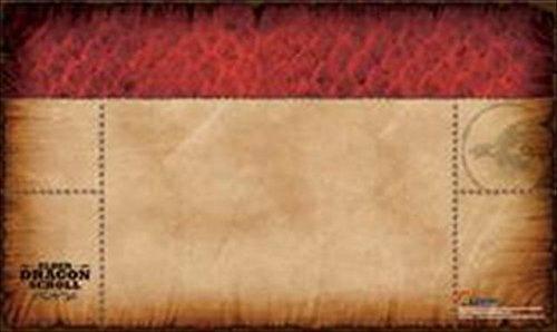 Legion Supplies PLMEDR Play Mat Elder Dragon Scroll Red