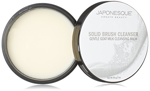 JAPONESQUE Solid Brush Cleanser, Goat-Milk, 2 oz