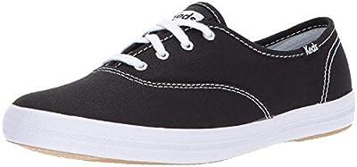Keds Women's Champion Original Canvas Sneaker (39 M EU/8 B(M) US, Champion Black Canvas)
