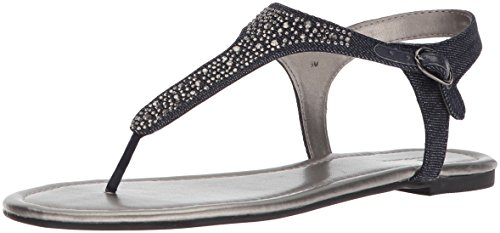 Bandolino Women's Kyrie Sandal, Denim, 8.5 M US