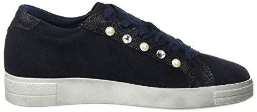 top Comb Low navy Tamaris Sneakers Women''s Blue 23690 qwTt0Pgx6