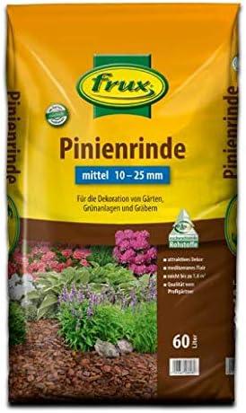 frux Corteza de pino mediana 10-25 mm 30 litros: Amazon.es: Jardín