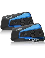 LEXIN Intercomunicador de motocicleta de Bluetooth Casco Comunicador Auricular
