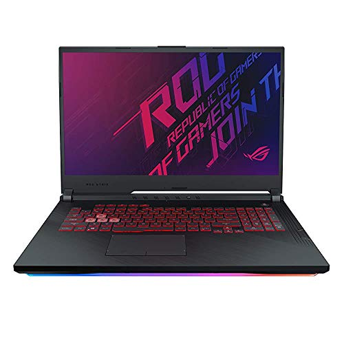 (Renewed) ASUS ROG Strix G G731GT-H7180T 17.3″ FHD 120Hz Gaming Laptop GTX 1650 4GB Graphics (Core i5-9300H 9th Gen/8GB RAM/1TB NVMe SSD/Windows 10/One-Zone RGB KB/2.85 Kg), Black
