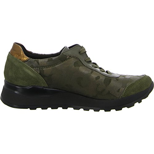 Piel de Waldläufer Kupfer para 001 Schilf Mujer Cordones Zapatos 405 H64001 de wq0qf1T