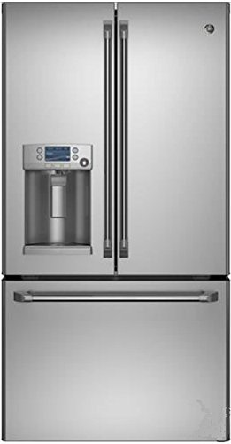 GE CFE28TSHSS Cafe 28.6 Cu. Ft. Stainless Steel French Door Refrigerator - Energy Star