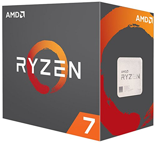 AMD Ryzen 7 1800X Processor (YD180XBCAEWOF) by AMD
