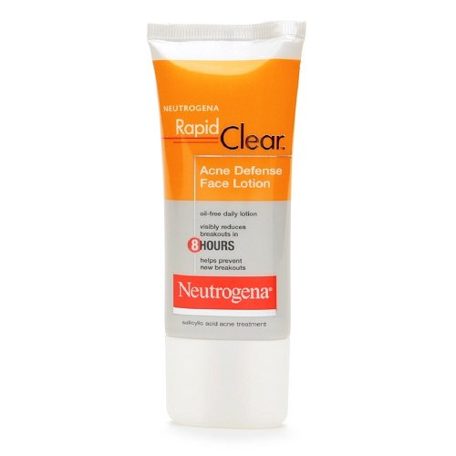Neutrogena Rapid Clear Acne Defense Face Lotion 1.70 ()