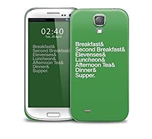 second breakfast elevenses lord of the rings Samsung Galaxy S4 GS4 protective phone case by lolosakes