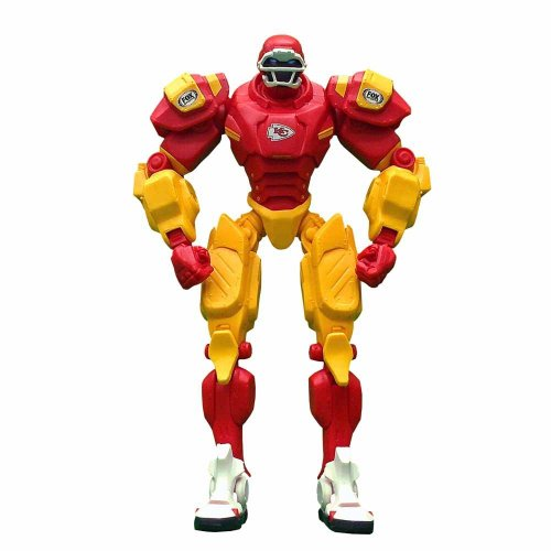 "Kansa City Chiefs 10"" Team Cleatus FOX Robot Action Figure Version 2.0"