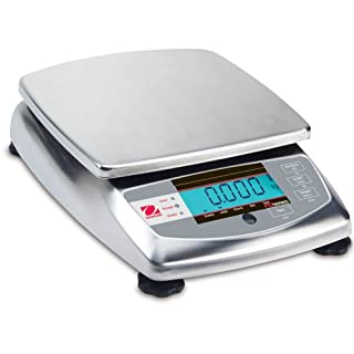 Ohaus Stainless Steel FD Food Portioning Scale, 6000g x 0.2g