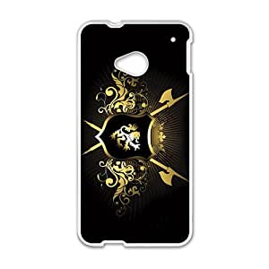 Lion Badge Custom Protective Hard Phone Cae For HTC One M7
