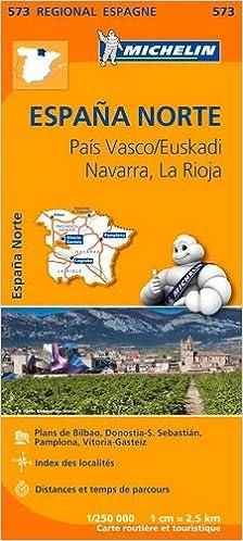 Espana norte : pais vasco (Régional Espagne): Amazon.es: Michelin: Libros en idiomas extranjeros